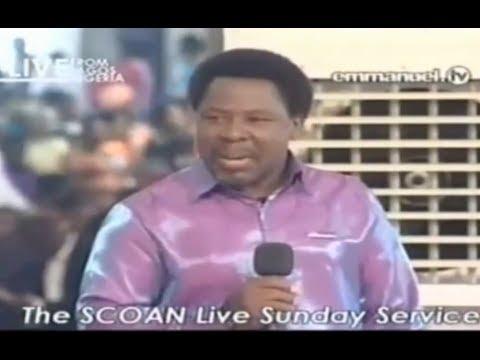 SCOAN 11/05/14: Sunday Live Service Prophet TB Joshua ...
