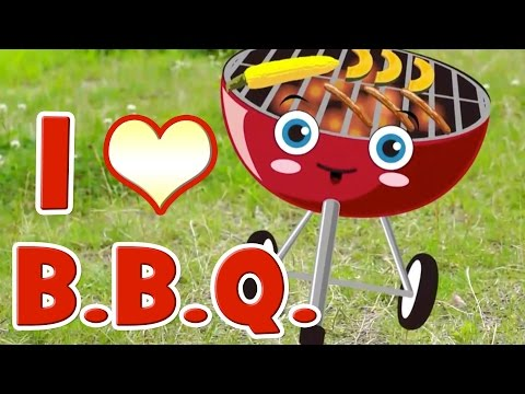 BBQ Song | Learn Food Vocabulary