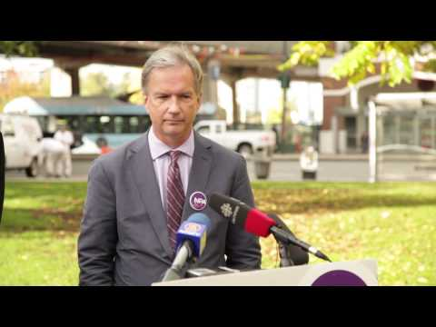 NPA's Kirk LaPointe refuses to answer question, walks away
