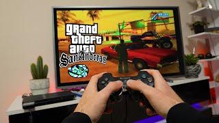 GTA San Andreas PS2 - PΟV GAMEPLAY AND Test | Freeroam