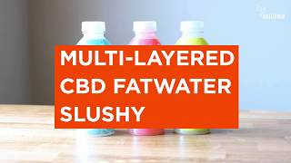 Nat'l Slurpee Day - Bulletproof FATWater CBD Slushy Recipe
