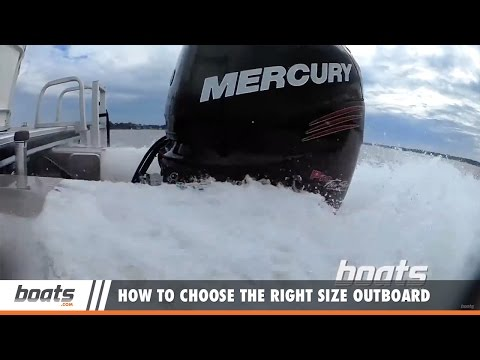 Boating Tips: How to Choose the Right Size Outboard Engine