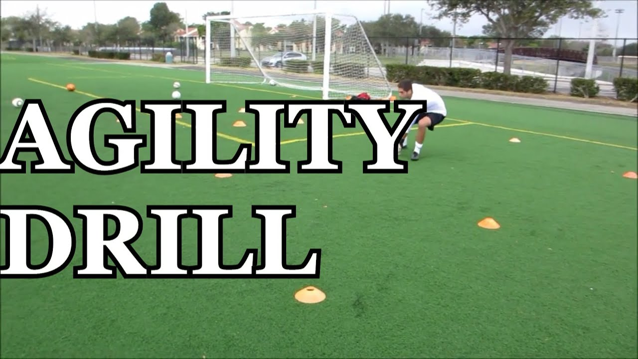 Goalkeeper Training Agility Drill Youtube