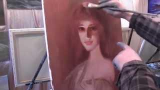 Портрет маслом для начинающего художника, научиться рисовать портрет, художник Сахаров(ВСЕ НОВОЕ НА http://saharov.tv Официальные сайты: http://artsaharov.com http://faniyasaharova.com http://polinasaharova.com http://ladasaharova.com ..., 2014-05-10T12:05:41.000Z)