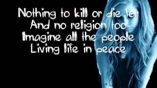 Imagine - Avril Lavigne lyrics