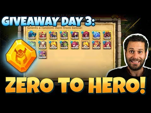 Free 2 Play From ZERO To HERO INSANE Changes Castle Clash