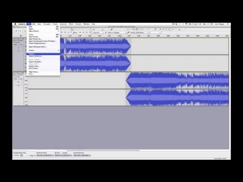How to Splice in Audacity : Audio Digital Media