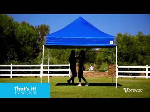 new styles b437a 0804c E-Z UP® Vantage™ Shelter: How-to Set Up
