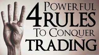 How To Chart & Trade Like The PROS! 4 Powerful Rules To Conquer YOUR Trading!