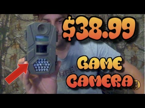 BEST CHEAP GAME CAMERA FOR UNDER $40!!! A MUST BUY FOR EVERY HUNTER!