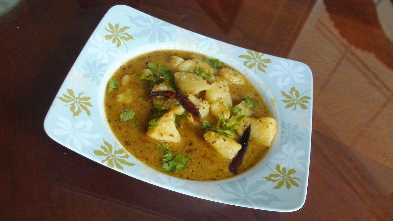 Rasavalu Bateta nu khatu shaak - Sweet & Tangy Potato ...