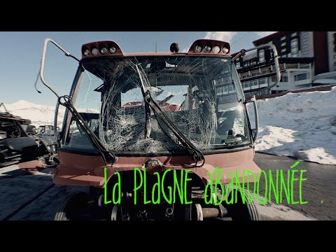 la Plagne abandonnée, les effets du coronavirus !!! ( les station de ski et le virus )