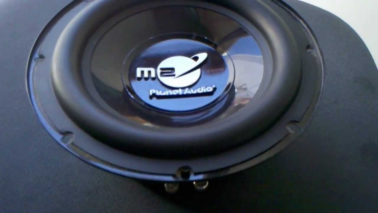 planet audio p80 subwoofer 8 inch 200 watts youtube rh youtube com Planet Audio VC10s planet audio 10 inch subwoofer reviews