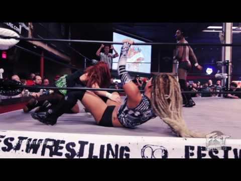 [FULL MATCH] POP CULTURE (Veda Scott & Jason Cade) vs. Shane Strickland & Lacey Lane FEST WRESTLING