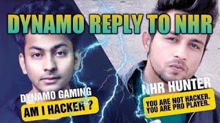 Finally dynamo reply to national highway randi hunter   Nhr hunter vs dynamo gaming #dynamogaming