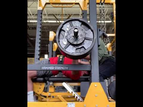 325x1 bench at 188, 20 years of age