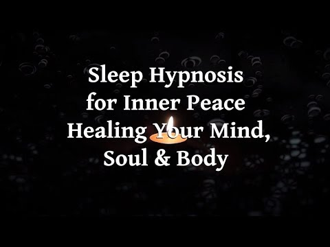 Sleep Hypnosis For Inner Peace |  Healing Your Mind Soul And Body | Australian Mathew King