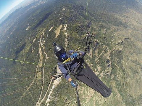 Paragliding Sandia Crest - Albuquerque, New Mexico