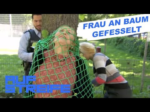 Frau an Baum gefesselt: Mann klaut Tresorschlüssel   Auf Streife   SAT.1 TV