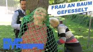 Frau an Baum gefesselt: Mann klaut Tresorschlüssel | Auf Streife | SAT.1 TV