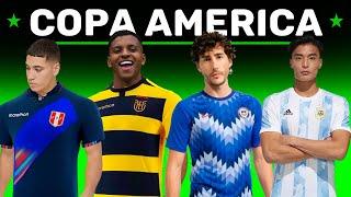 Las Camisetas mas HERMOSAS 😍 y Feas de la COPA AMERICA 2021