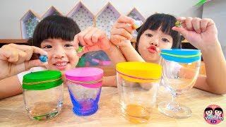 หนูยิ้มหนูแย้ม   เปลี่ยนแก้วให้เป็นกลอง Kids Activity