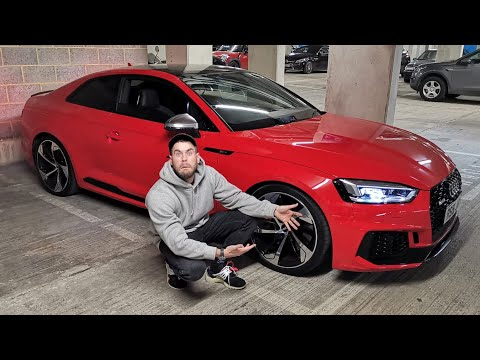 MY BROTHER GOT AN AUDI RS5!