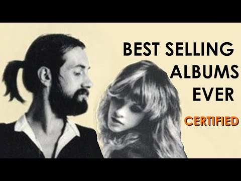 TOP 10 Best Selling Albums of all time ! CERTIFIED SALES