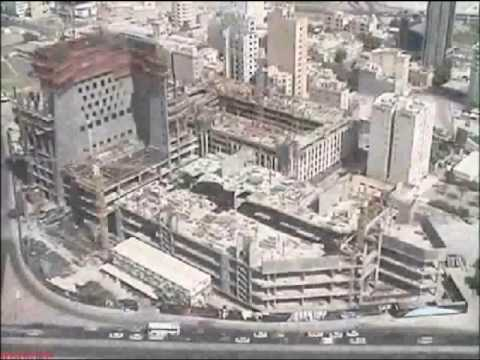 Al Hamra Tower Time lapse