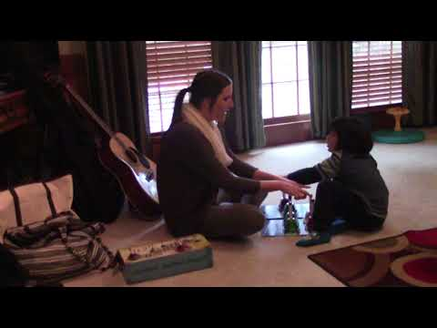 Little Bradley during Music Therapy on December 16, 2017 - Video 3