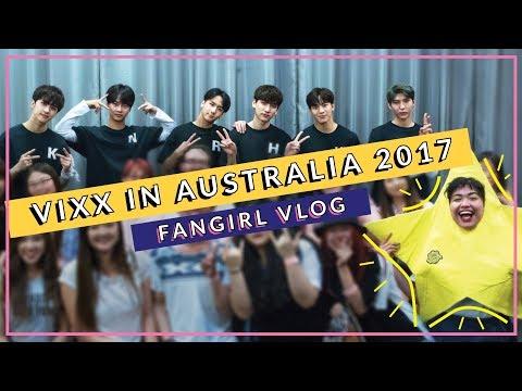 A VLOG DEBUT • VIXX IN AUSTRALIA 2017