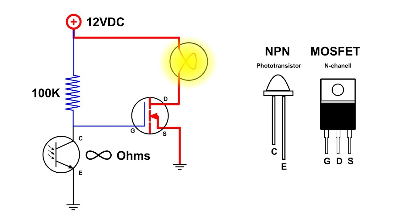 Simple Touch Switch Schematic Wiring Diagrams For Dummies Circuit Diagram Auto On Off Light Youtube Capacitive