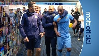 Manchester City: City 3-0 West Brom | TUNNEL CAM