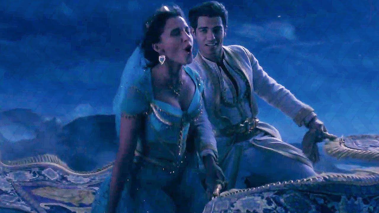 A Whole New World Song Scene Aladdin 2019 Movie Clip Youtube