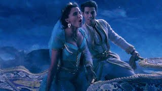 "Watch the official ""a whole new world song"" clip for aladdin, a fantasy movie starring mena massoud, naomi scott and will smith. in theaters may 24, 2019. ""a..."