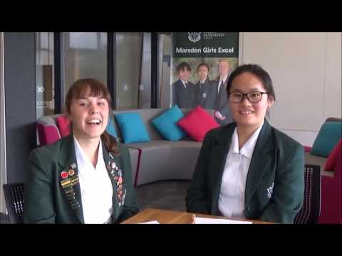 Year 12 students talk about the Marsden School International Experience