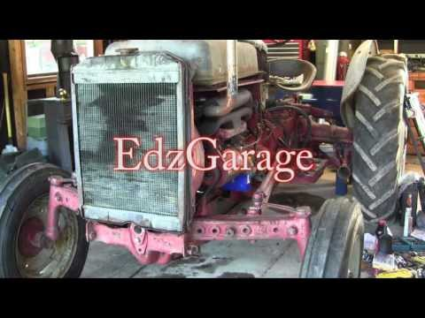 Ford Jubilee NAA Tractor Engine Rebuild Part 16 Wiring, Front Axle and First Start!! Problems :-(