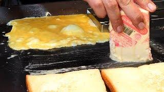 노릇노릇~ 치즈 계란 소세지 토스트 (yellowish~ ch…