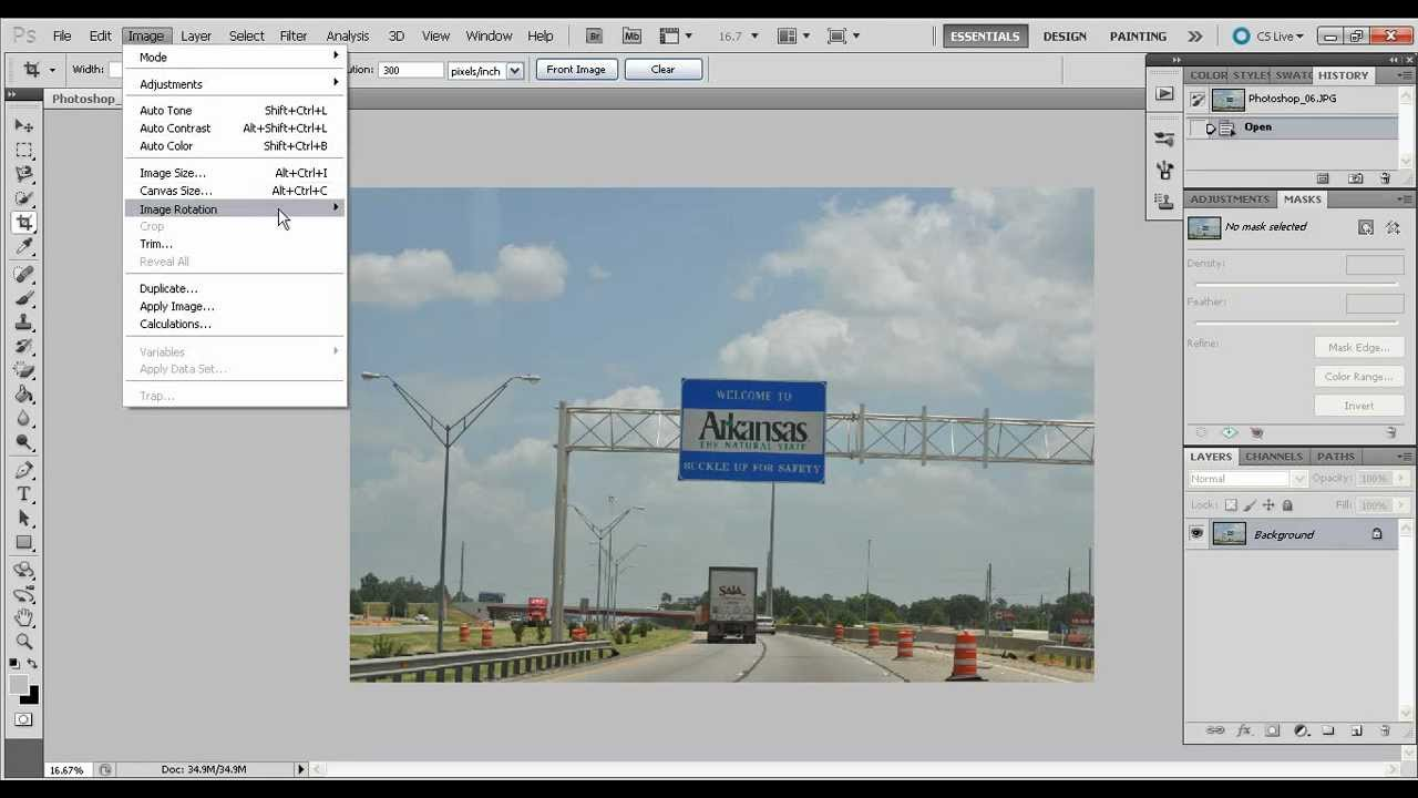 How to on zoom in photoshop
