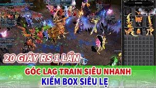 Mu Away Mobile | Train Góc Lag Thần Thánh - Cày BOX Kiếm Đồ Full +15 Siêu Nhanh