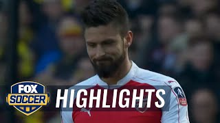 Arsenal vs. Watford | 2015-16 FA Cup Highlights
