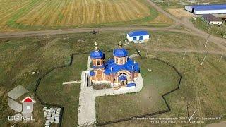 Аэросъемка села Сиктерме - Хузангаево (Алькеевский район)