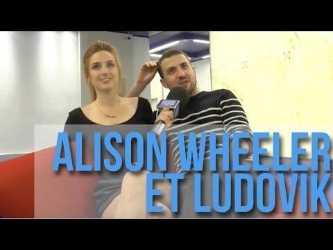 """Alison Wheeler et Ludovik: """"L'avis le plus important c'est celui des proches""""."""