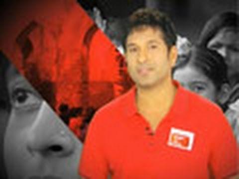 Sachin Tendulkar stands for Support My School campaign