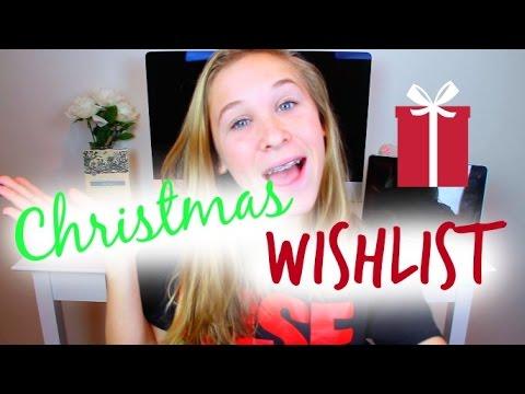 Christmas Wish List 2014!
