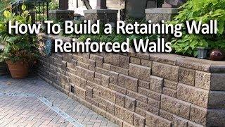 كيفية بناء الاستنادية الجدار باستخدام الشبكة الجغرافية