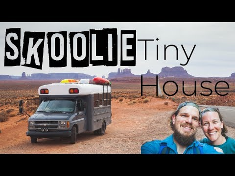 Okienomads Skoolie Bus Tour- Solar Powered School Bus Conversion