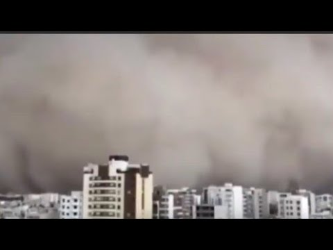 GMS: BREAKING NEWS- APOCALYPTIC SANDSTORM SWEEPS IRANIAN CITY