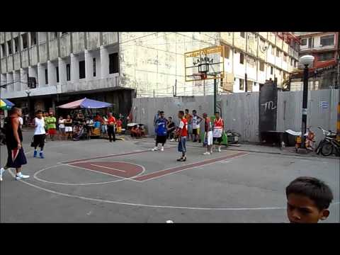 Street baskett ball in San Andres, Manila