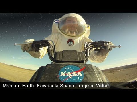 Mars on Earth: Kawasaki Space Program - MotoUSA